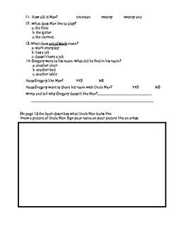 the chalk box kid comprehension questions story by robert