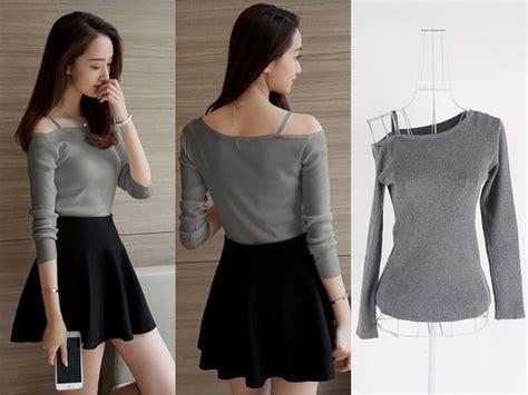 Blouse Sabrina Rajut Roundhand Atasan Wanita jual baju atasan sabrina blouse rajut wanita korea import
