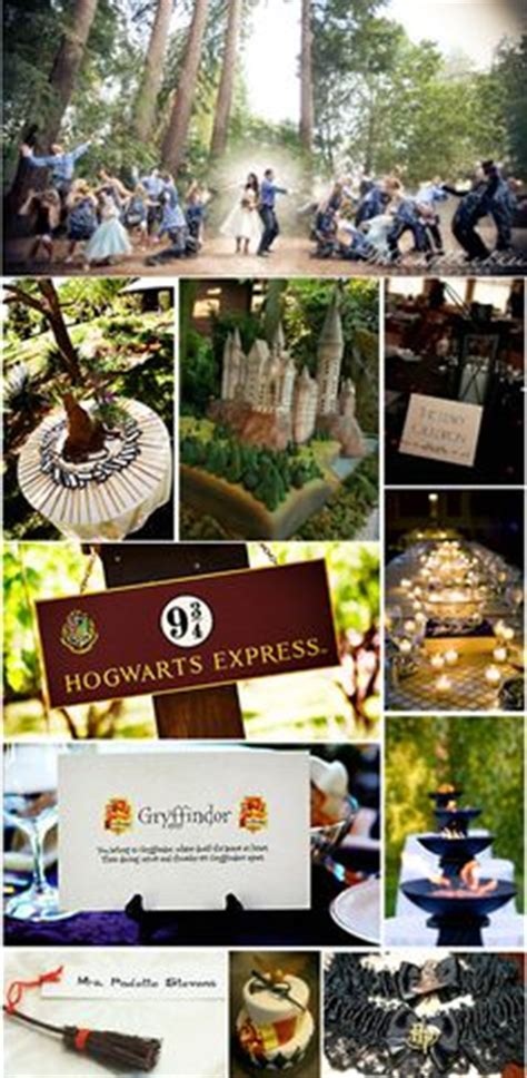 Hochzeitseinladung Harry Potter by How To Throw The Ultimate Harry Potter Wedding Harry