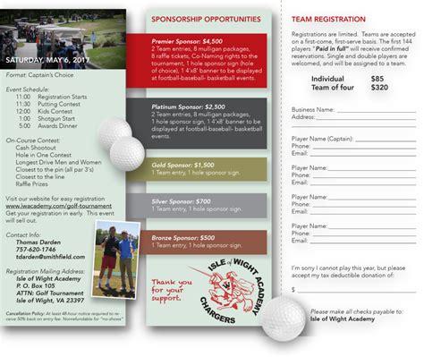 golf tournament brochure iwa golf tournament brochure 2017 2 isle of wight academy