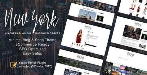 themeforest new themes themeforest new york download wordpress blog shop theme