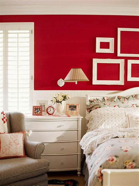 red wall bedroom bedrooms with red walls panda s house