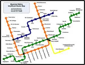montreal canada metro map world nycsubway org montreal metro route map