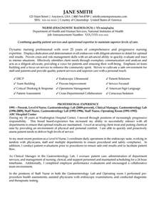 Endoscopy Sle Resume by Diagnostic Radiology Resume