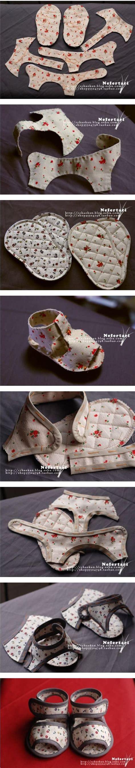 como hacer zapatos para bebe de tela como hacer zapatos de bebe con tela reciclada