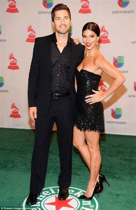 Roselyn Sanchez stuns in plunging sheer gown that exposes