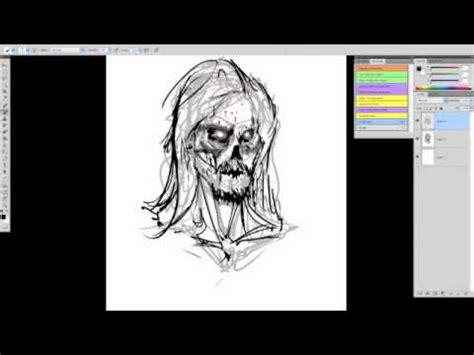 tutorial photoshop cs5 zombie tutorial on how to draw a walking dead zombie photoshop