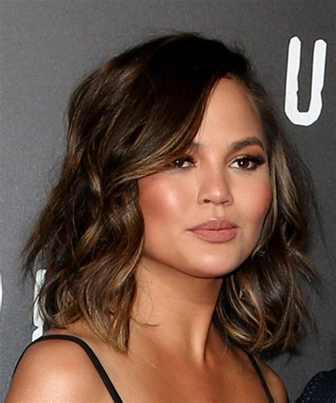 chrissy teigen hair color christine teigen hairstyles in 2018