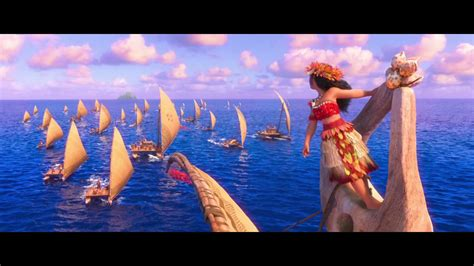 boat song from moana moana we know the way finale hd youtube