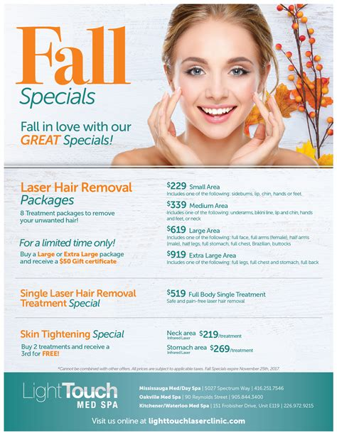 Light Touch Laser Spa by Med Spa Specials Lighttouch Laser Clinic