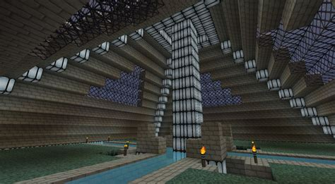 Pyramid Interior by Aduin Keep Minecraft Project
