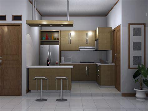 desain dapur  ruang makan menyatu rumah impian