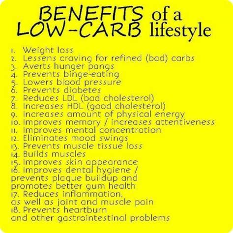 carbohydrates benefits about low carb diet what it is and its benefits