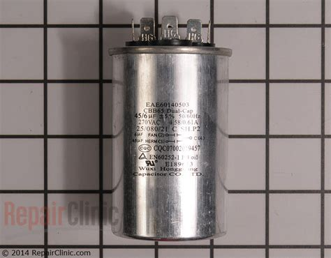 how to test dehumidifier capacitor capacitor eae42718011 repairclinic