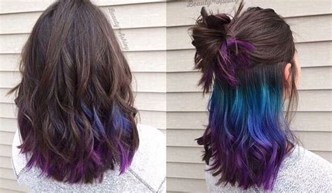 tri layer of dying hair 69 best images about wigging on pinterest purple pastel