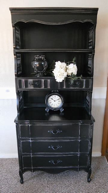 17 best ideas about black distressed dresser on
