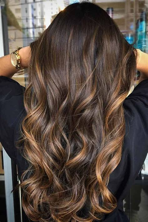 dark on bottom ombre hair color for brunettes 30 highlighted hair for brunettes brown balayage