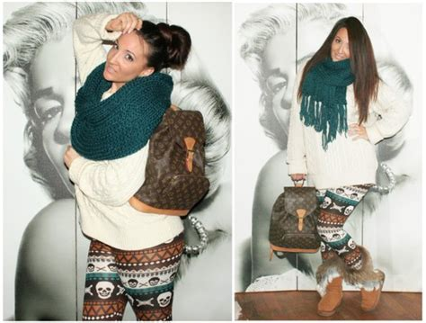 snow outfits with leggings and boots bag snow ugg boots winter sweater winter outfits