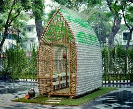 Urban Permaculture Garden - beautifully ingenious greenhouse in vietnam is made from recycled plastic bottles amp bamboo off