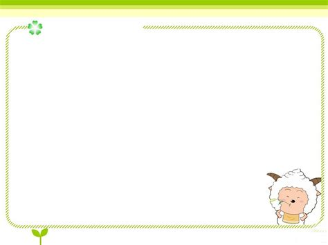 Anime Border Powerpoint Backgrounds Free Ppt Backgrounds Powerpoint Borders Free
