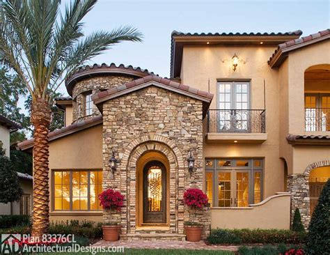 mediterranean homes mediterranean plans architectural designs
