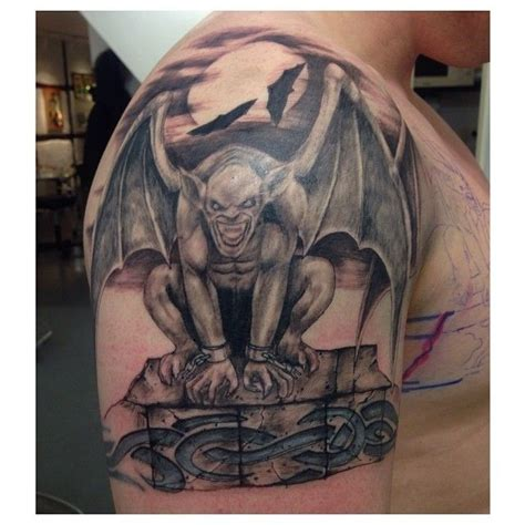tribal gargoyle tattoo 16 best gargoyle tattoos images on gargoyle