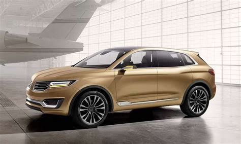 2018 lincoln mkx redesign changes specs interior