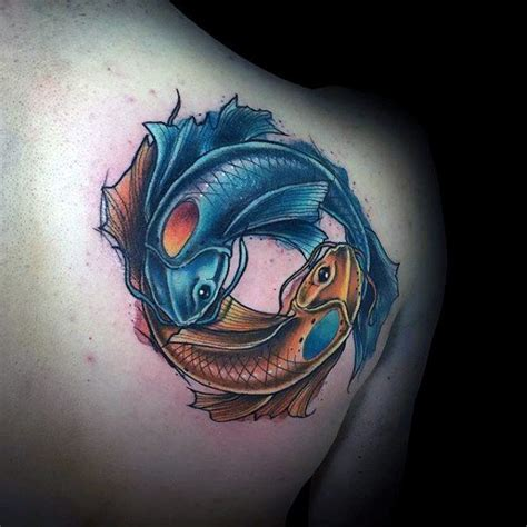 yin yang koi tattoo top 20 best koi fish tattoo design tattoo ideas in trend