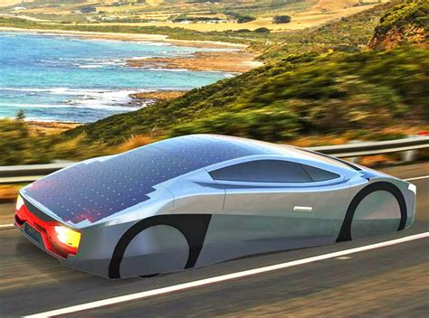 Solar Powered Cruise Cars Use The Sun On The Golf Course by The Immortus Electric Sports Car Can Drive All Day Using