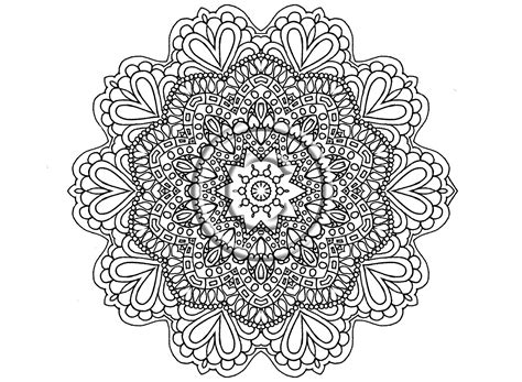 coloring book beautiful mandalas for serenity stress relief books instant pdf coloring page zentangle