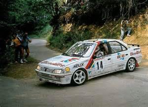 Peugeot 405 Rally Peugeot 405 Rally Voor Gebruikte Onderdelen De