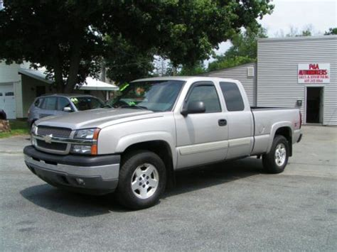 all car manuals free 2003 chevrolet silverado parking system sell used 2005 chevy silverado 1500 ext cab z71 4x4 5 3 4dr dealer service records x clean in