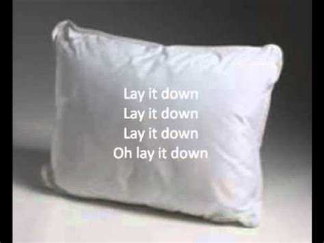 Lay Your On Pillow Lloyd Lyrics by Lay It Lloyd With Lyrics On Screen