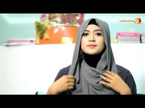tutorial hijab paris simple tanpa jarum cara memakai jilbab pashmina simple look tanpa jarum by