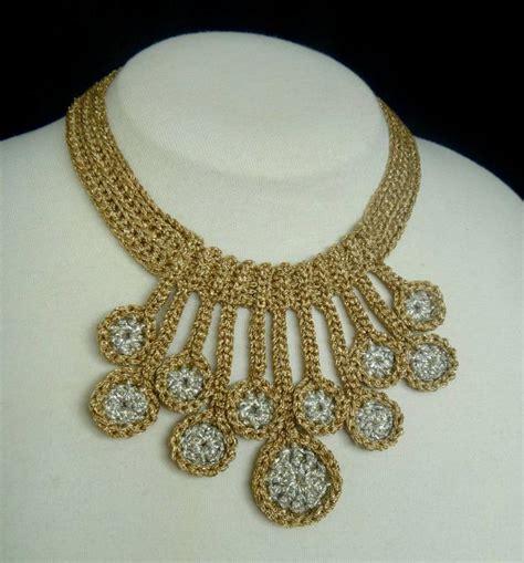 Necklace Pattern 10 stash busting crochet necklace patterns craftsy