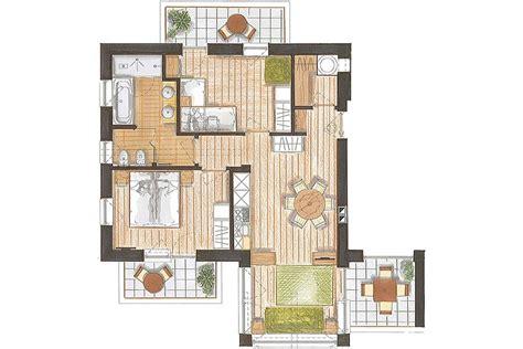 Trilocale 60 Mq predazzo appartamento residence color home