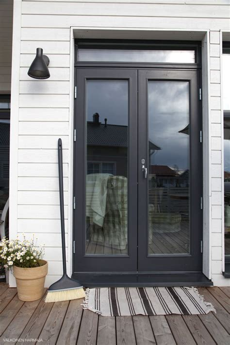 Black Patio Doors Best 25 Black Doors Ideas On Kitchen Patio Doors Black Rooms And Doors