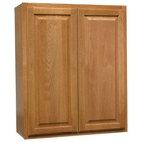 medium oak kitchen cabinets hton bay hton assembled 30x36x12 in wall kitchen