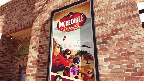 hollywood studios jan 2019 video municiberg with the incredibles opens at disney s
