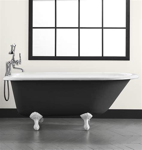 5 1 2 clawfoot tub with black exterior rejuvenation