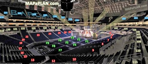 Prudential Center Floor Plan by Barclays Center Brooklyn View From Seat End Stage
