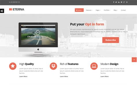 bootstrap themes psd free download eterna complete bootstrap template download new themes