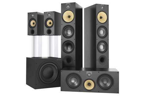 bowers wilkins 683 5 1 home theater speaker system