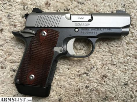Kimber Giveaway - armslist for sale kimber micro 9 cdp