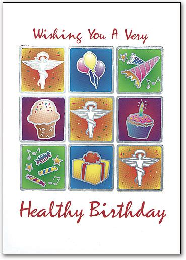 Healthy Birthday Card