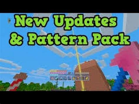 minecraft pattern texture pack review minecraft xbox 360 xbox one ps3 ps4 pattern texture pack
