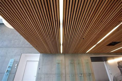 designer s panels stunning slatted wood ceiling panels design for contemporary home interior ideas commerical