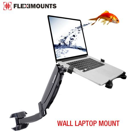 Swivel Laptop Stand For by Swivel Upto 15 6 Quot Wall Laptop Mount 10 24 Quot Monitor Lcd