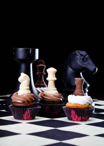 Cake Banner 20x22cm Chess chess with cupcakes anyone all things cupcake