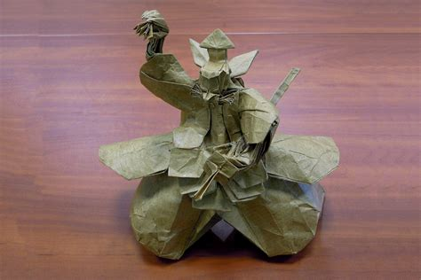 Origami In Japanese Culture - amazing origami models from japanese culture and mythology